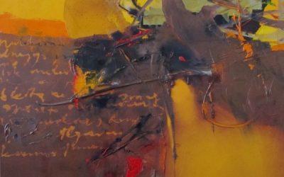 Virginijaus Tamošiūno tapybos parodos pristatymas