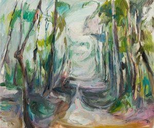 Gamta ir laikas Rūtos Eidukaitytės tapyboje