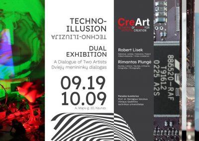 poster-techno iliuzija